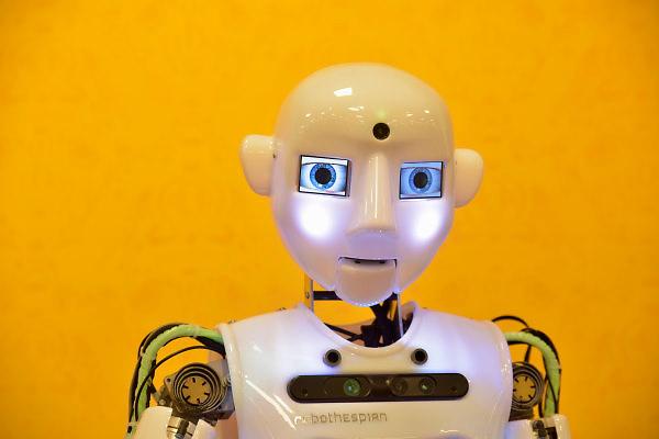 Nederland, Kerkrade, 2-2-2018In het Continium Discovery center staat een robot .Foto: Flip Franssen