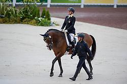 Antonella Cecilia, (ITA), Ubacho - Team Competition Grade Ib Para Dressage - Alltech FEI World Equestrian Games™ 2014 - Normandy, France.<br /> © Hippo Foto Team - Jon Stroud <br /> 25/06/14