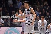 Luca Campogrande<br /> Segafredo Virtus Bologna - Kontatto Fortitudo Bologna<br /> Campionato Basket LNP 2016/2017<br /> Bologna 06/01/2017<br /> Foto Ciamillo-Castoria