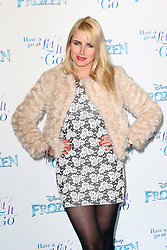 Nancy Sorrell, Frozen Sing-Along - VIP film screening, Royal Albert Hall, London UK, 17 November 2014, Photo by Richard Goldschmidt ©under licence to London News Pictures. +44 (0)208 408 0190