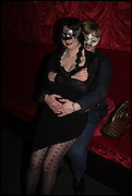 ALEXA MULLER; ERIC MULLER, The Dark Side of Love, Valentine's Masked Ball. the Coronet Theatre, Elephant and Castle. London. 13 February 2015.
