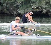 Ottensheim, AUSTRIA.  A  Final,  LM1X NZL Duncan GRANT, winning the  Final.at the 2008 FISA Senior and Junior Rowing Championships,  Linz/Ottensheim. Sunday,  27/07/2008.  [Mandatory Credit: Peter SPURRIER, Intersport Images] Rowing Course: Linz/ Ottensheim, Austria