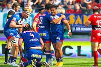 Joie Grenoble - 11.04.2015 - Grenoble / Toulon  - 22eme journee de Top 14 <br />Photo :  Jacques Robert / Icon Sport