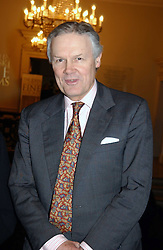 SIR ANTHONY FIGGIS at a private view of the new exhibition 'Matisse, his Art and his Textiles' at the Royal Academy of Art, Burlington House, Piccadilly, London on 1st March 2005.<br /><br />NON EXCLUSIVE - WORLD RIGHTS