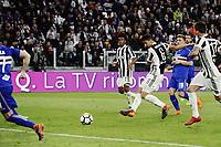 gol Sami Khedira Juventus Goal celebration <br /> Torino 15-04-2018 Allianz Stadium Football Calcio Serie A Juventus - Sampdoria foto Image Sport / Insidefoto