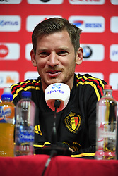 September 5, 2018 - Tubize, BELGIQUE - TUBIZE, BELGIUM - SEPTEMBER 5 : Jan Vertonghen defender of Belgium pictured during a press conference prior to the friendly match against Scotland and Nations League match against Iceland at the Belgian Football Center on September 05, 2018 in Tubize, Belgium, 5/09/2018 (Credit Image: © Panoramic via ZUMA Press)
