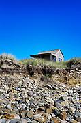 Beach shack, Martha's Vineyard, Massachusetts, USA