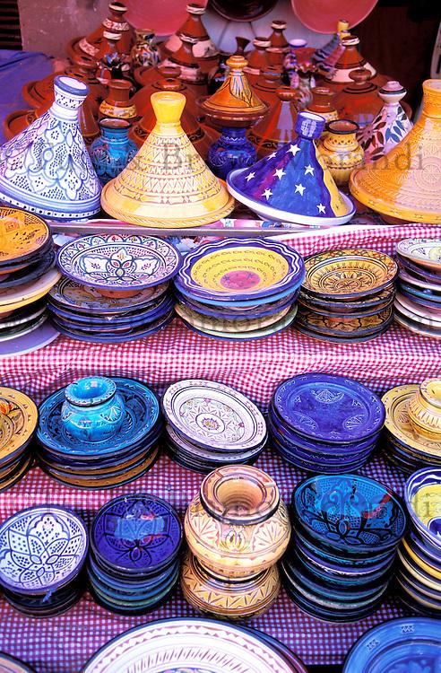 Maroc - Haut Atlas - Ouarzazate - Artisanat - Poterie