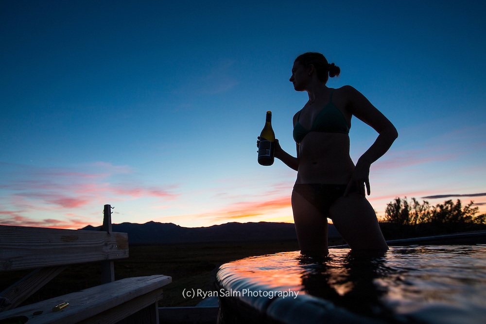 Hot spring - Central Nevada