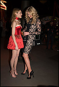 NATALIA VODIANOVA, JODIE KIDD The World's First Fund Fair  in aid of Natalia Vodianova's charity the Naked Heart Foundation. The Roundhouse. London. 24 February 2015.