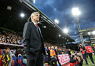 Arsenal's Arsene Wenger looks on during the Premier League match at Selhurst Park Stadium, London. Picture date: April 10th, 2017. Pic credit should read: David Klein/Sportimage