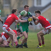 Wolfe Tones Ross O'Connor V Corofin's Damien O'Loughlin and Ross Hayes