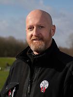 HALFWEG - Greenkeepers Amsterdamse Golfclub. hoofdgreenkeeper Frank Klaver. COPYRIGHT  KOEN SUYK