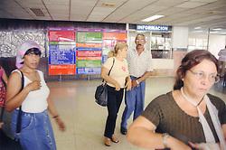 Lobby of Hermanos Ameijeiras Hospital; Havana Cuba,
