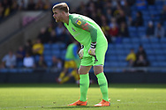 Coventry City goalkeeper Lee Burge (1) during the EFL Sky Bet League 1 match between Oxford United and Coventry City at the Kassam Stadium, Oxford, England on 9 September 2018.