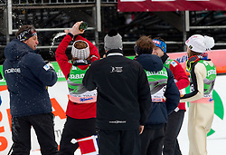Mika Kojonkoski, head coach of Finland finishes his coaching career during Flying Hill Team at 3rd day of FIS Ski Jumping World Cup Finals Planica 2011, on March 19, 2011, Planica, Slovenia. (Photo by Vid Ponikvar / Sportida)