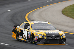 July 14, 2017 - Loudon, NH, United States of America - July 14, 2017 - Loudon, NH, USA: Matt Kenseth (20)  hangs out in the garage during practice for the Overton's 301 at New Hampshire Motor Speedway in Loudon, NH. (Credit Image: © Justin R. Noe Asp Inc/ASP via ZUMA Wire)