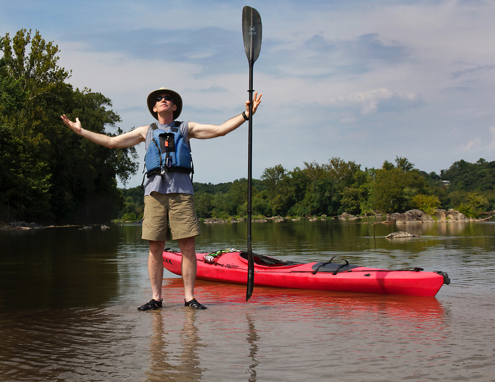 Lae August Paddle at Riverbend on the Potomac
