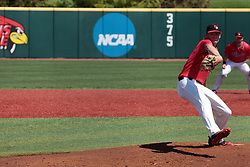 05 May 2018:  Brent Headrick during an NCAA Division I Baseball game between the Bradley Braves and the Illinois State Redbirds in Duffy Bass Field, Normal IL