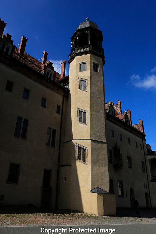 The exterior of the home of Martin Luther<br /> Photo by Dennis Brack