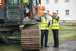 "Pictured: Michael Matheson and governor Caroline Johnstone<br /> Justice Secretary Michael Matheson joined governor Caroline Johnstone to mark the start of demolition of Corton Vale Prison today. Cornton Vale is a women's prison in Stirling, operated by the Scottish Prison Service. Built in 1975, Cornton Vale comprises a total of 217 cells in its 5 houses. Ministers decided to close the prison after former Lord Advocate Elish Angiolini warned it was ""not fit for purpose"".<br />  <br /> Ger Harley 