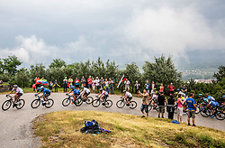 Riders during 4th Stage of 26th Tour of Slovenia 2019 cycling race between Nova Gorica and Ajdovscina (153,9 km), on June 22, 2019 in Slovenia. Photo by Vid Ponikvar / Sportida