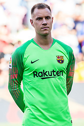 August 15, 2018 - Marc Andre Ter Stegen from Germany during the Joan Gamper trophy game between FC Barcelona and CA Boca Juniors in Camp Nou Stadium at Barcelona, on 15 of August of 2018, Spain. (Credit Image: © AFP7 via ZUMA Wire)