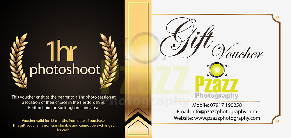 1hr Photography Photo shoot at a location of your choice in the Herts, Beds and Bucks area.