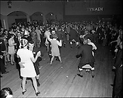 20/04/1970<br /> 04/20/1970<br /> 20 April 1970<br /> Tynagh Mines Dinner Dance at Loughrea, Co. Galway. Party in full flow. A strange competition!