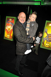ALDO ZILLI and his son ROCCO at the premier of Ben Ten Alien Force at the Old Billingsgate Market, City of London on 15th February 2009.