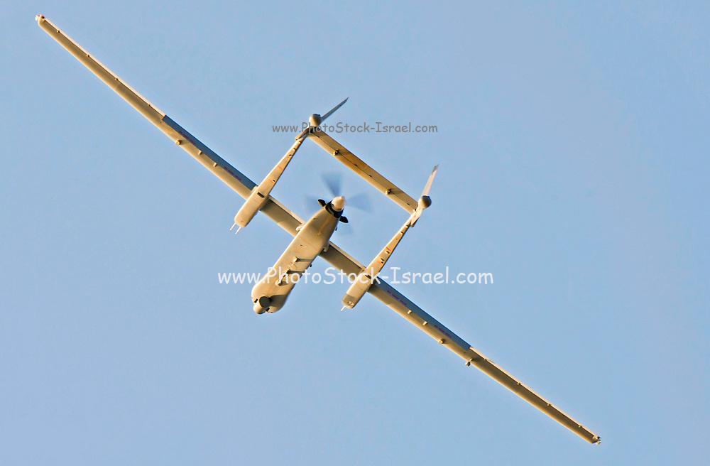 Israeli Air force (IAF) IAI Heron TP (IAI Eitan) an Unmanned Aerial Vehicle (UAV) developed by the Malat division of Israel Aerospace Industries.