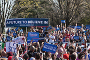 """Brooklyn, NY - 17 April 2016. Actor Danny DeVito spoke in support of Sanders. Vermont Senator Bernie Sanders, who is running as a Democrat in the U.S. Presidential primary elections, held a campaign """"get out the  vote"""" rally in Brooklyn's Prospect Park."""