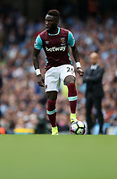 Football - Arthur Masuaku of West Ham United during the match at the Etihad Stadium between Manchester City and West Ham United. <br /> <br /> 2016 / 2017 Premier League - Manchester City vs. West Ham United<br /> <br /> -- at The Etihad Stadium.<br /> <br /> COLORSPORT/LYNNE CAMERON