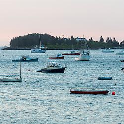 Dawn in Tenants Harbor, Maine.