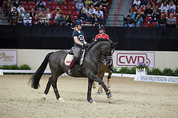 Dujardin Charlotte, (GBR), Valegro <br /> Training session<br /> Reem Acra FEI World Cup™ Dressage Finals <br /> Las Vegas 2015<br />  © Hippo Foto - Dirk Caremans<br /> 15/04/15