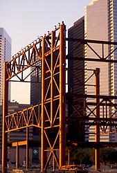 Stock photo of the original construction of George R. Brown Convention Center in Houston, Texas.