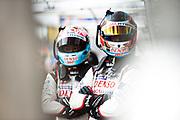 Jose Maria Lopez, Yuji Kunimoto<br /> TOYOTA GAZOO  Racing. <br /> Le Mans 24 Hours Race, 12th to 18th June 2017<br /> Circuit de la Sarthe, Le Mans, France.