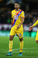 Ezekiel Fryers of Crystal Palace looking dejected at the end of the game. Premier League match, Burnley v Crystal Palace at Turf Moor in Burnley , Lancs on Saturday 5th November 2016.<br /> pic by Chris Stading, Andrew Orchard sports photography.