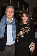 FARES FARES; TANIA FARES, Dinner in aid of the China Tiger Revival hosted by Sir David Tang and Stephen Fry  at China Tang, Park Lane, London. 1 October 2013. ,