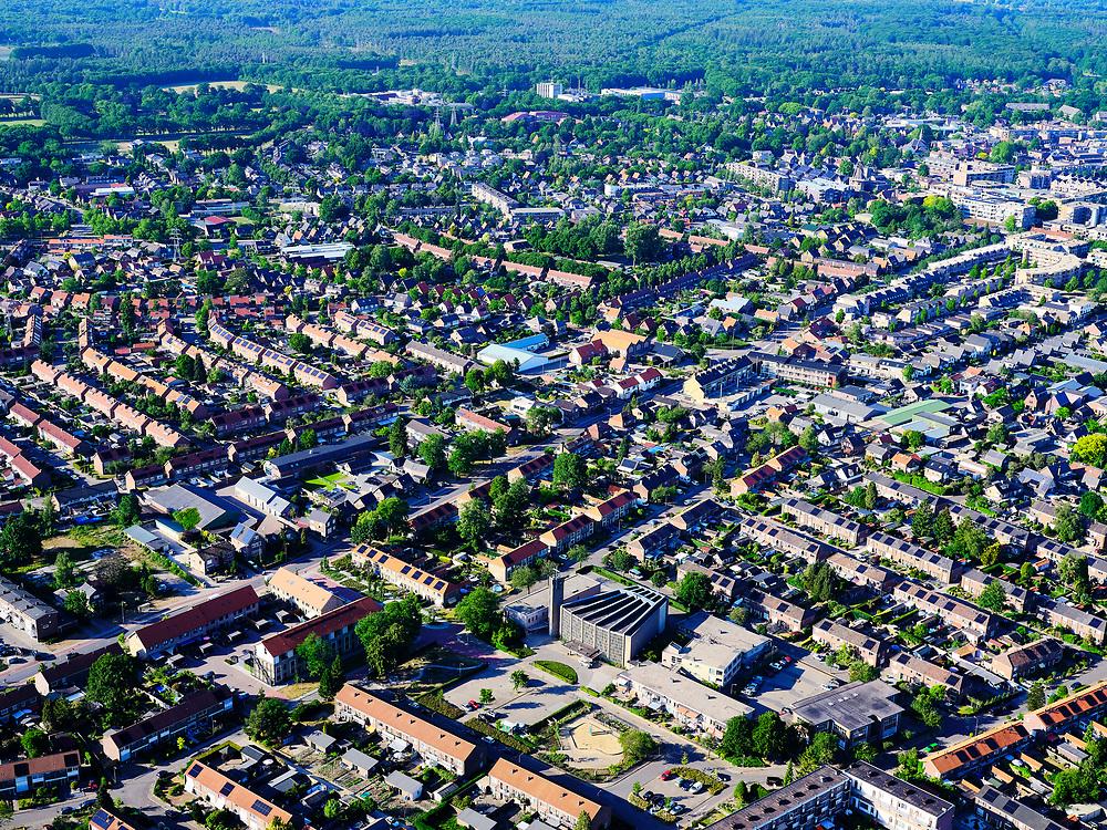 Nederland, Gelderland, Gemeente Ede, 14–05-2020; Zuid-oost Ede, onder andere de nieuwbouwwijk Manen.<br /> <br /> luchtfoto (toeslag op standaard tarieven);<br /> aerial photo (additional fee required)<br /> copyright © 2020 foto/photo Siebe Swart