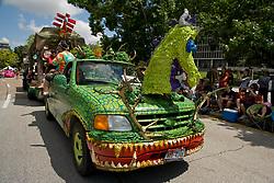 Stock photo of the Houston Art Car Parade 2012