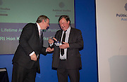 Adam Boulton and Kenneth Clarke, Political Studies Association Awards 2004. Institute of Directors, Pall Mall. London SW1. 30 November 2004.  ONE TIME USE ONLY - DO NOT ARCHIVE  © Copyright Photograph by Dafydd Jones 66 Stockwell Park Rd. London SW9 0DA Tel 020 7733 0108 www.dafjones.com