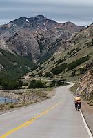 Beautiful landscape by Carretera Austral, Chile
