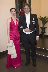 Bettina Bernadotte von Wisborg, Philipp Haug bei der Nobelpreisverleihung 2016 in der Konzerthalle in Stockholm / 101216 <br /> <br /> ***The annual Nobel Prize Award Ceremony at The Concert Hall in Stockholm, December 10th, 2016***