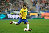 FOOTBALL - FRIENDLY GAME 2010/2011 - FRANCE v BRAZIL - 9/02/2011 - PHOTO JEAN MARIE HERVIO / DPPI - THIAGO SILVA (BRA)