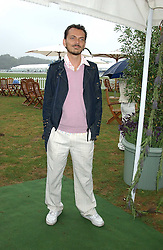 Fashion designer MATTHEW WILLIAMSON at the 2005 Cartier International Polo between England & Australia held at Guards Polo Club, Smith's Lawn, Windsor Great Park, Berkshire on 24th July 2005.<br /><br />NON EXCLUSIVE - WORLD RIGHTS