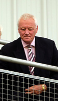 Photo: Ed Godden/Sportsbeat Images.<br /> Leyton Orient v Hartlepool United. Coca Cola League 1. 22/09/2007. Orient Chairman Barry Hearn, takes his seat in the stands.