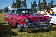 1957 Chevrolet Bel Air Nomad at WAAAM Traffic Jam.