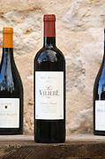 Mas Nicot cuvee La Valiere. Mas de Perry, Mas Nicot. Terrasses de Larzac. Languedoc. France. Europe. Bottle.