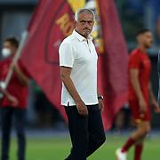 Roma 14/08/2021 Stadio Olimpico<br /> Amichevole <br /> AS Roma vs Raja Club Athletic<br /> Jose Mourinho